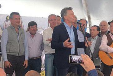 DOS LINEAS DE FINANCIAMIENTO PARA EL CAMPO ANUNCIO MACRI EN EXPOAGRO