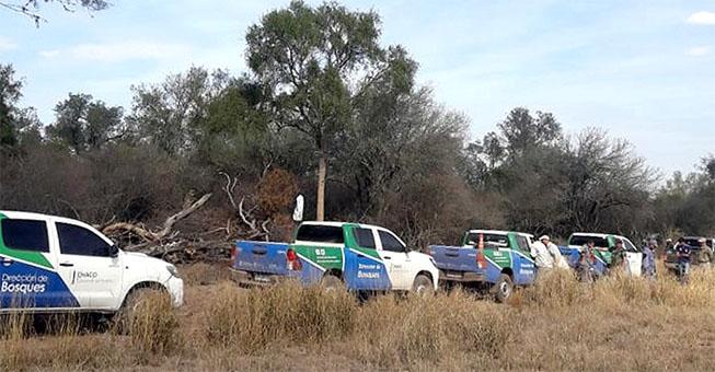 """BOSQUES: """"FISCALIZAMOS TODO EL TERRITORIO CHAQUEÑO"""" – Afirma que se redujo un 44% la deforestación"""
